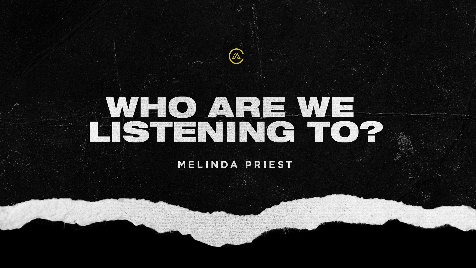 Who are we listening to